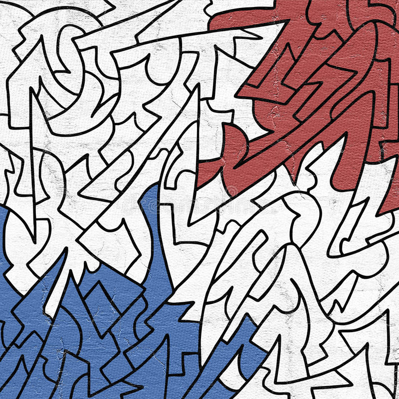 Kleuren artistiek behang vector illustratie