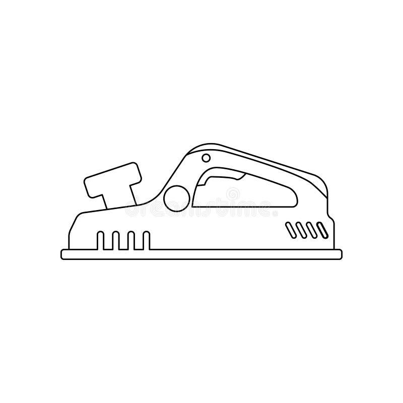 kleuren hefboom-vliegtuig pictogram Element van bouwhulpmiddelen voor mobiel concept en webtoepassingenpictogram Overzicht, dun l stock illustratie