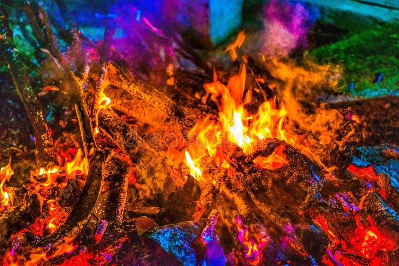 Kleuren van Brand stock foto's
