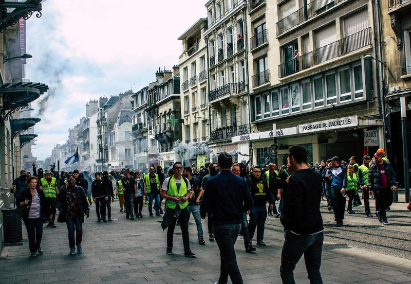 Kleuren van Frankrijk stock fotografie