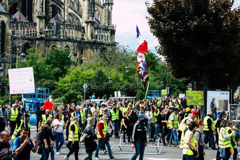 Kleuren van Frankrijk stock afbeelding