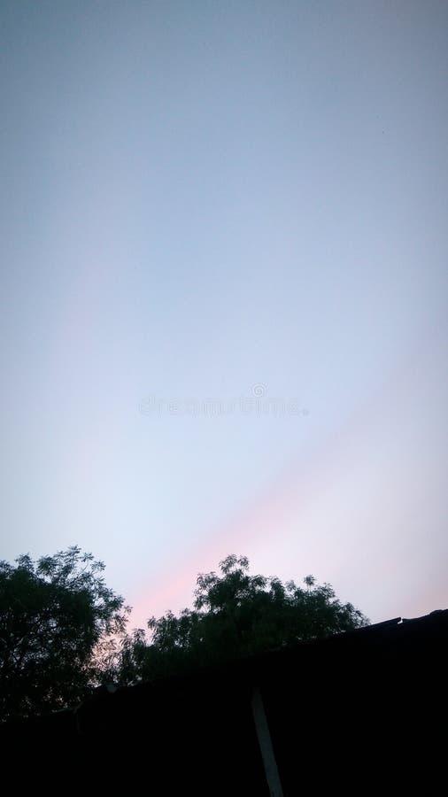 Kleuren van hemel stock afbeelding