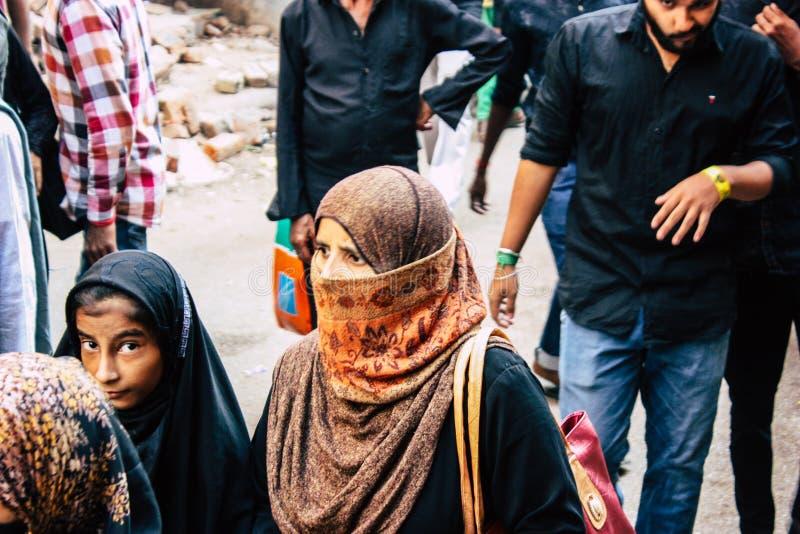Kleuren van India stock foto's