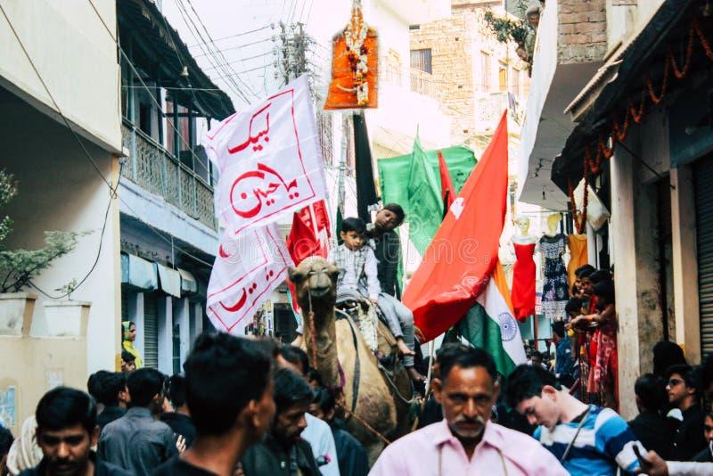 Kleuren van India stock fotografie