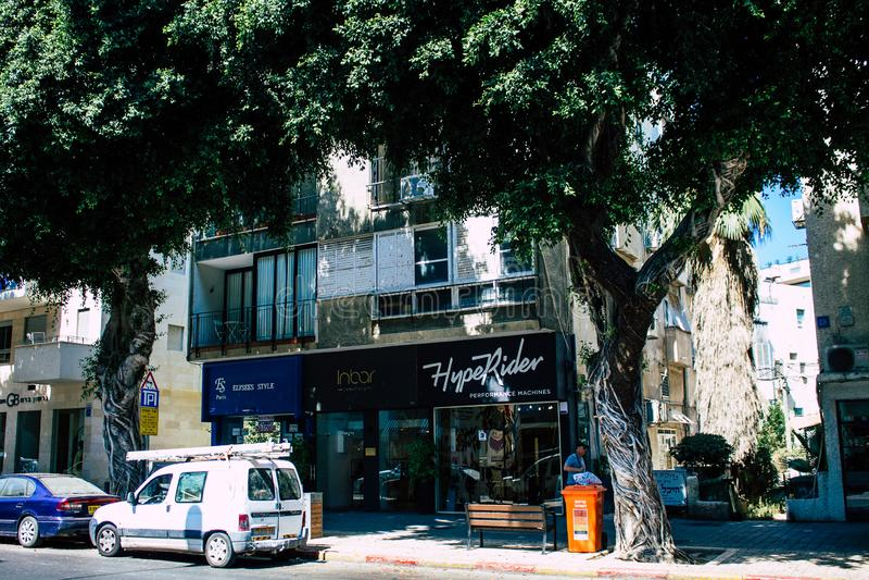 Kleuren van Israël stock fotografie