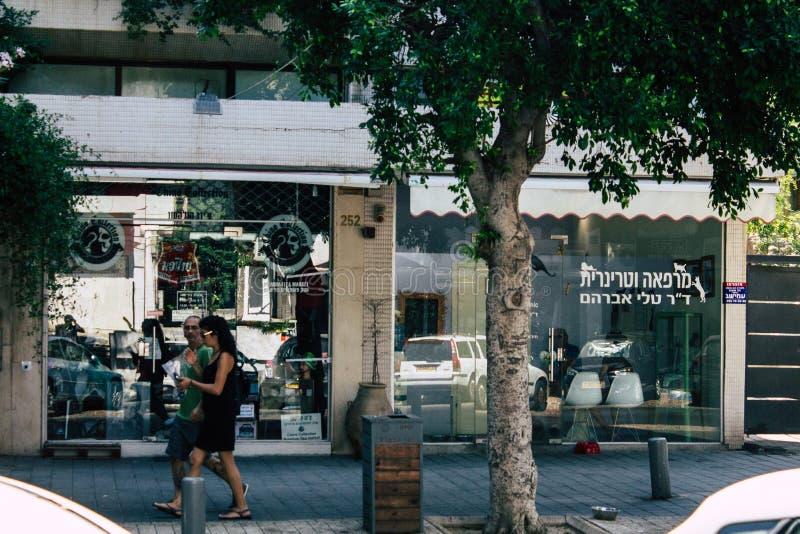 Kleuren van Israël stock foto's