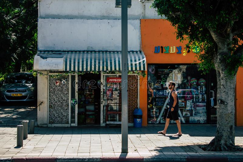 Kleuren van Israël stock afbeelding