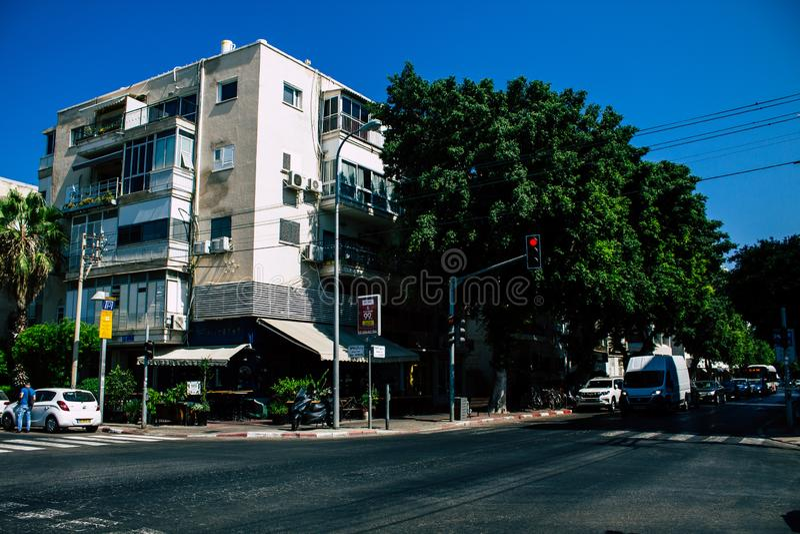 Kleuren van Israël stock foto