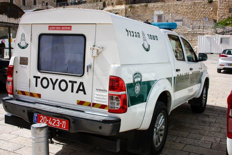 Kleuren van Jeruzalem in Israël stock afbeeldingen