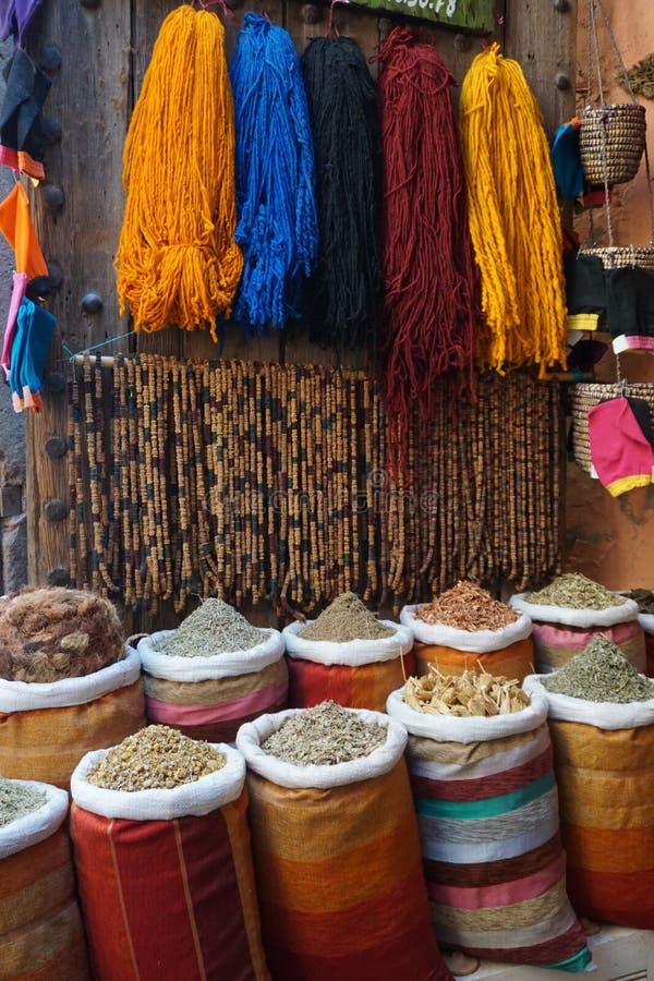 Kleuren van Marokko royalty-vrije stock foto