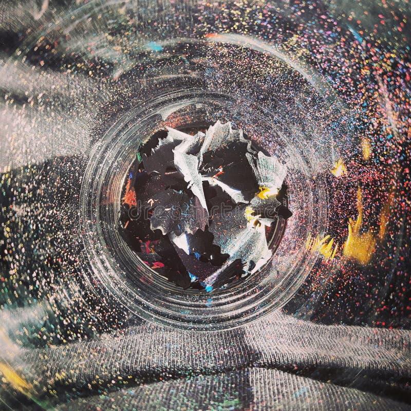 Kleuren van potloden stock foto's