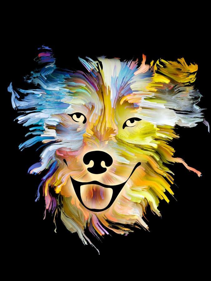 Kleuren van trouw royalty-vrije illustratie