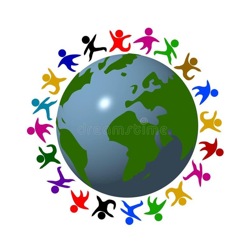 Kleuren van Vrede vector illustratie