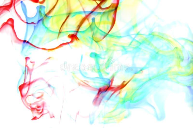 Kleuren in water stock afbeeldingen