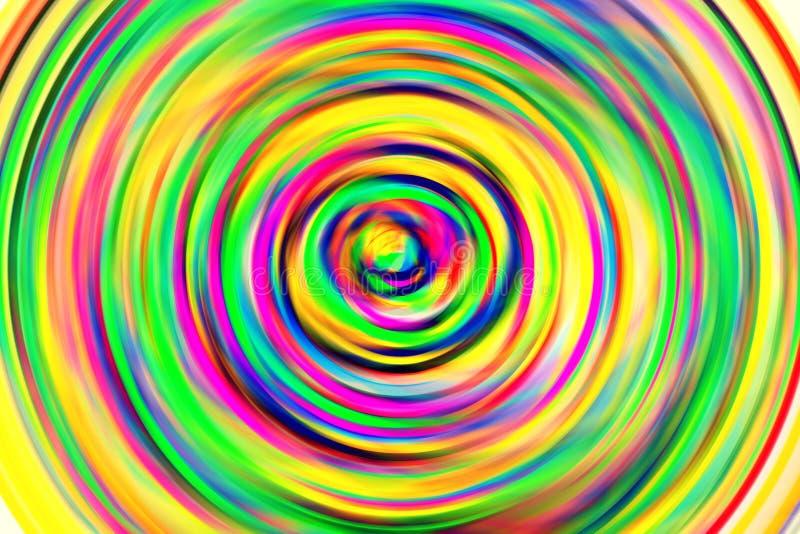 Kleurencirkel stock illustratie