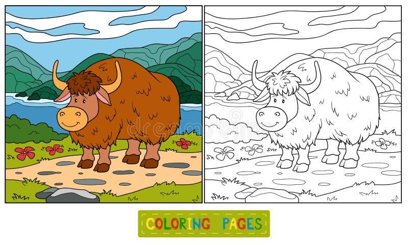 Kleurend boek (jakken) vector illustratie
