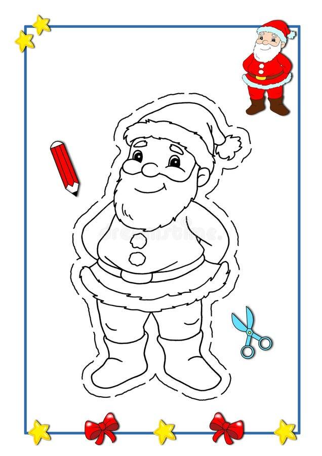 Kleurend boek van Kerstmis 1