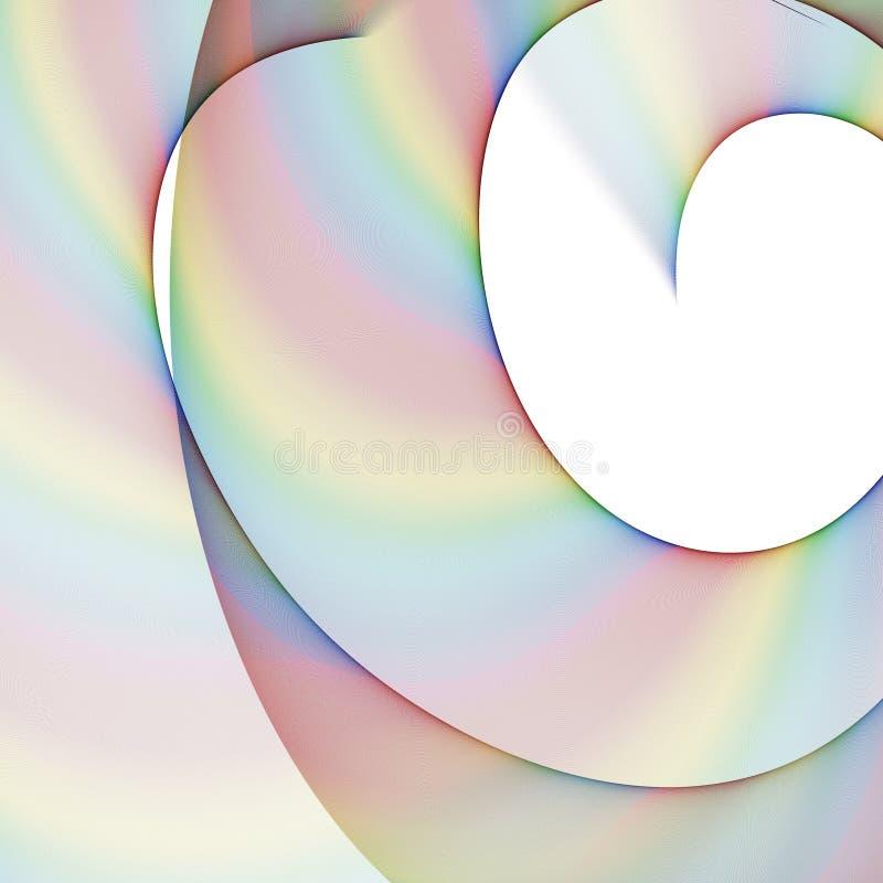 Kleurendaling stock illustratie