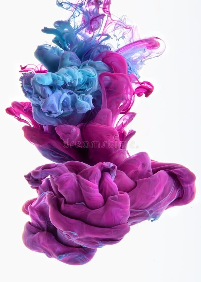 Kleurendaling royalty-vrije stock afbeelding