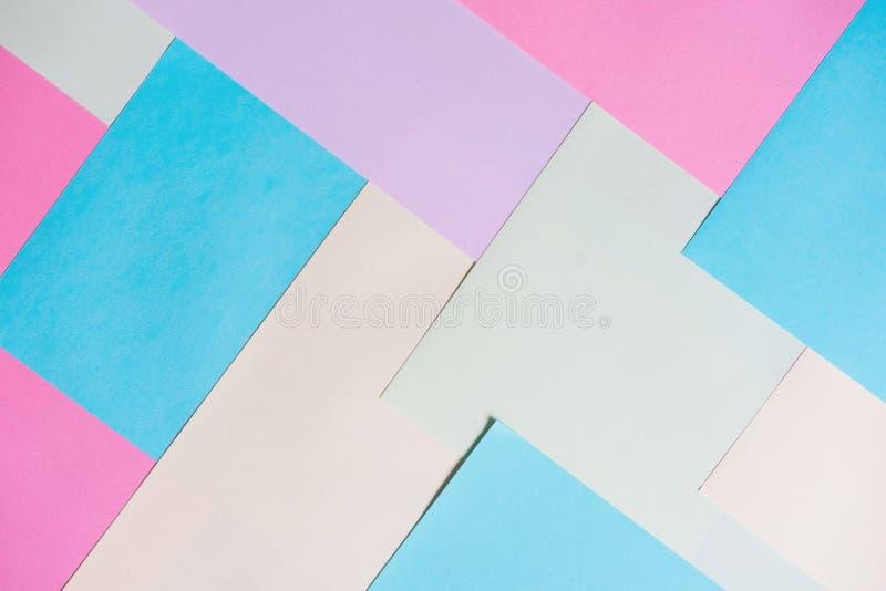 Kleurendocument achtergrond stock foto