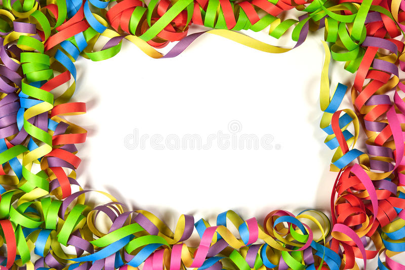 Kleurendocument lintkader stock fotografie
