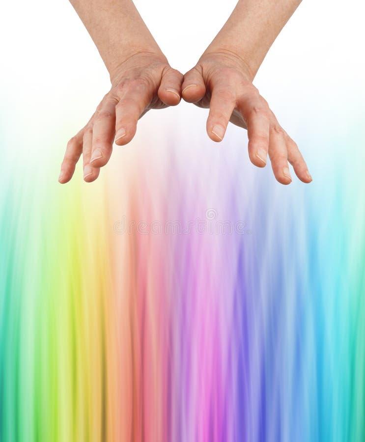 Kleurengenezer het ontdekken kleurengolflengten stock fotografie