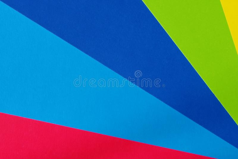 Kleurenkarton voor creativiteit Multicolored achtergrond Schoollevering voor toepassingen royalty-vrije stock afbeelding
