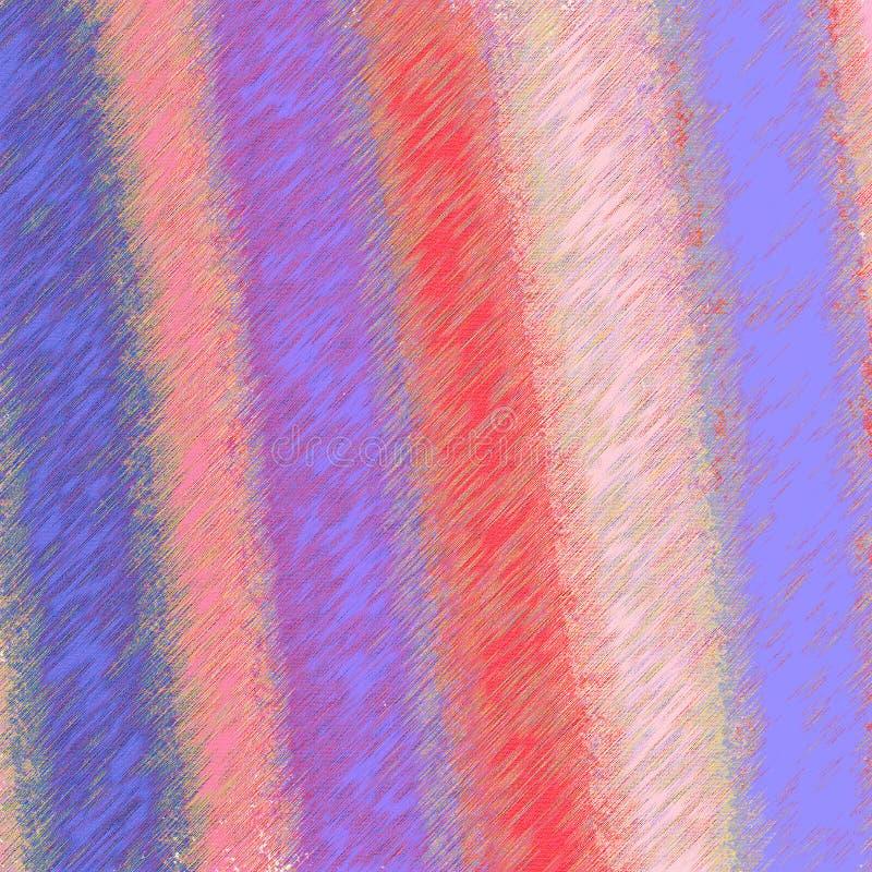 Kleurenmonsters met grungy gevolgen De achtergrond van de Grungeoppervlakte stock illustratie