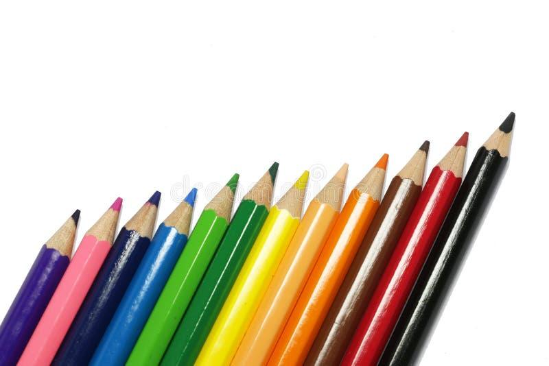 Kleurenpen het desing stock fotografie