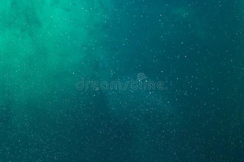 Kleurentextuur Water Overzees Diepe donkerblauw, smaragdgroen, groen royalty-vrije stock afbeelding
