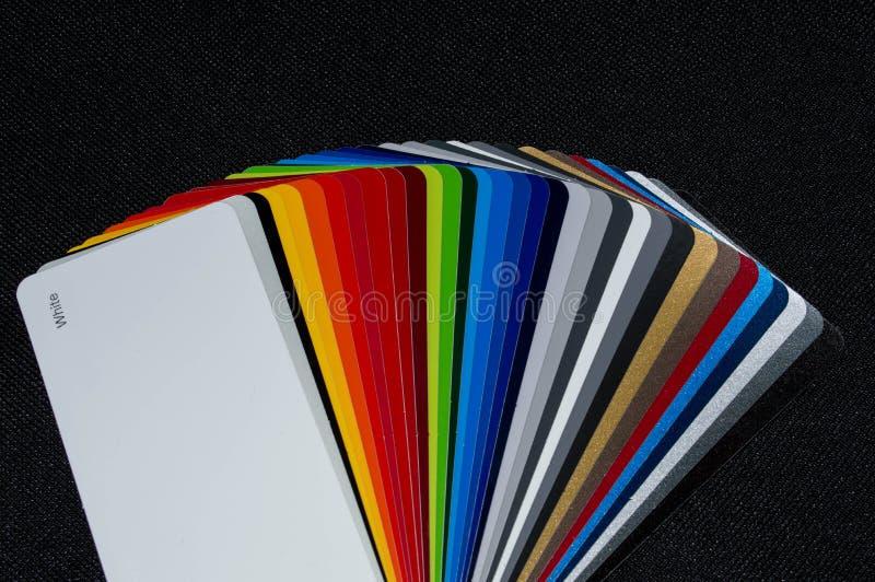 Kleurenventilator royalty-vrije stock fotografie