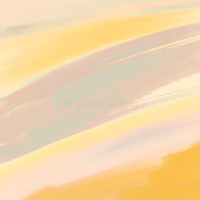 Kleurpotloden Grungy Geschilderde achtergrond Ruw kleurpotlodeneffect royalty-vrije illustratie
