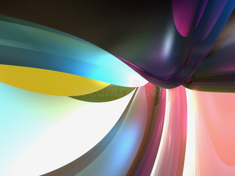 Kleurrijk Abstract Behang Als achtergrond stock fotografie