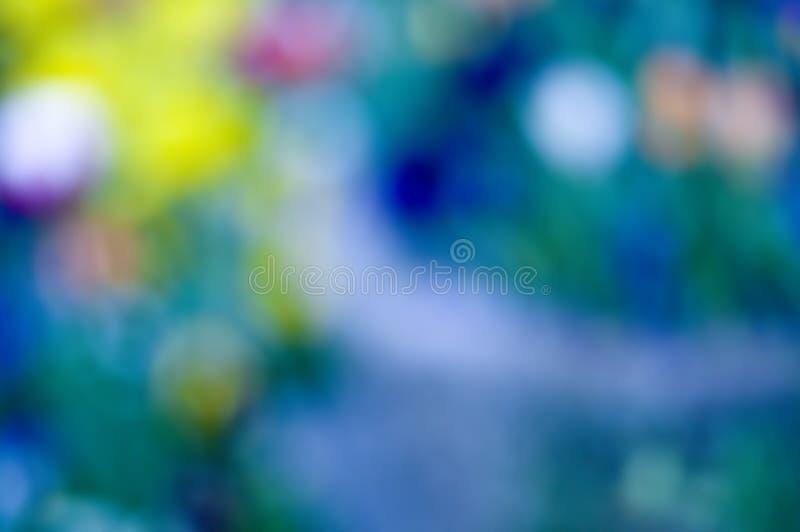 Kleurrijk abstract onduidelijk beeld royalty-vrije stock foto's