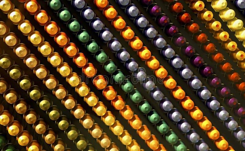 Kleurrijk abstract patroon van knoppen royalty-vrije stock afbeelding