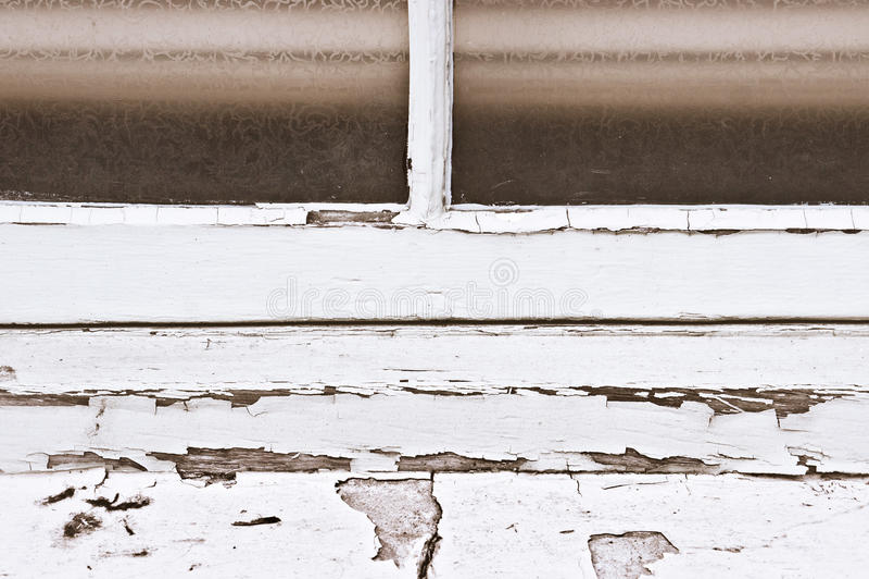 Kleurrijk antiek venster royalty-vrije stock fotografie