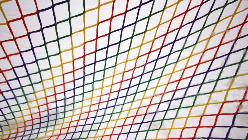 Kleurrijk bevroren netwerk royalty-vrije stock afbeelding