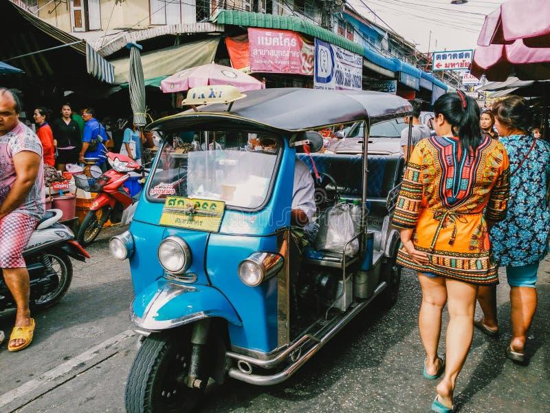 Kleurrijk bij Markt stock foto