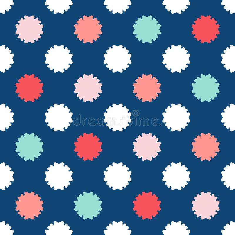 Kleurrijk bloemen naadloos patroon Het patroon van de baby Jongenspatroon royalty-vrije illustratie