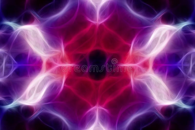 Kleurrijk caleidoscooppatroon royalty-vrije illustratie