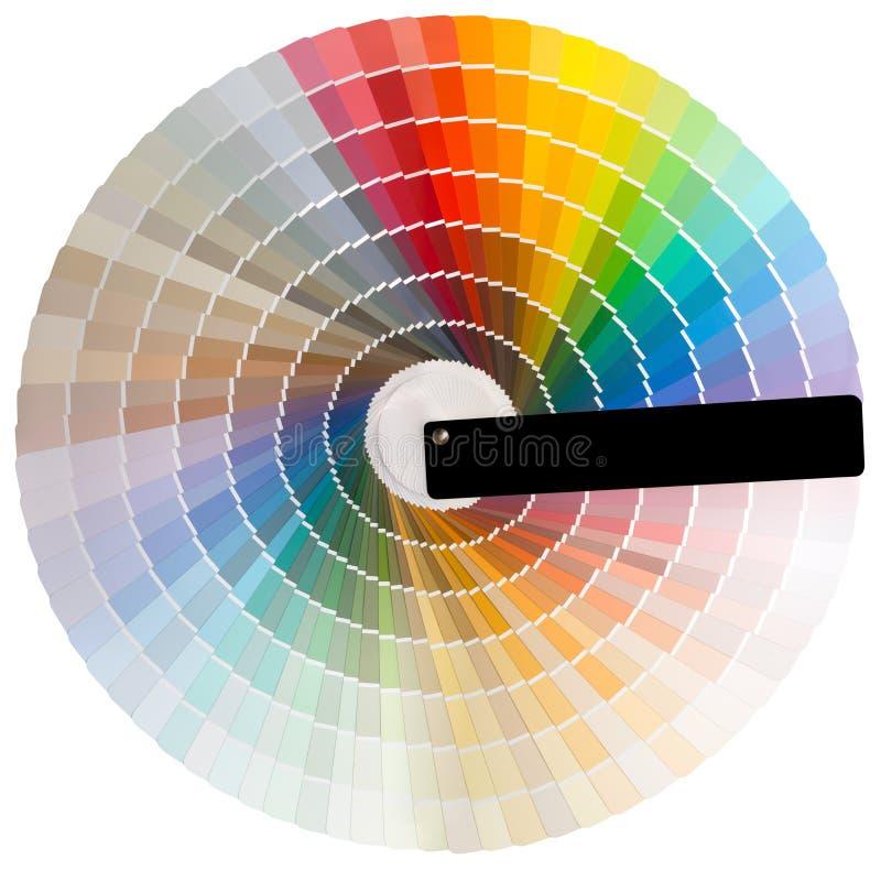 Kleurrijk cirkelknipsel stock fotografie