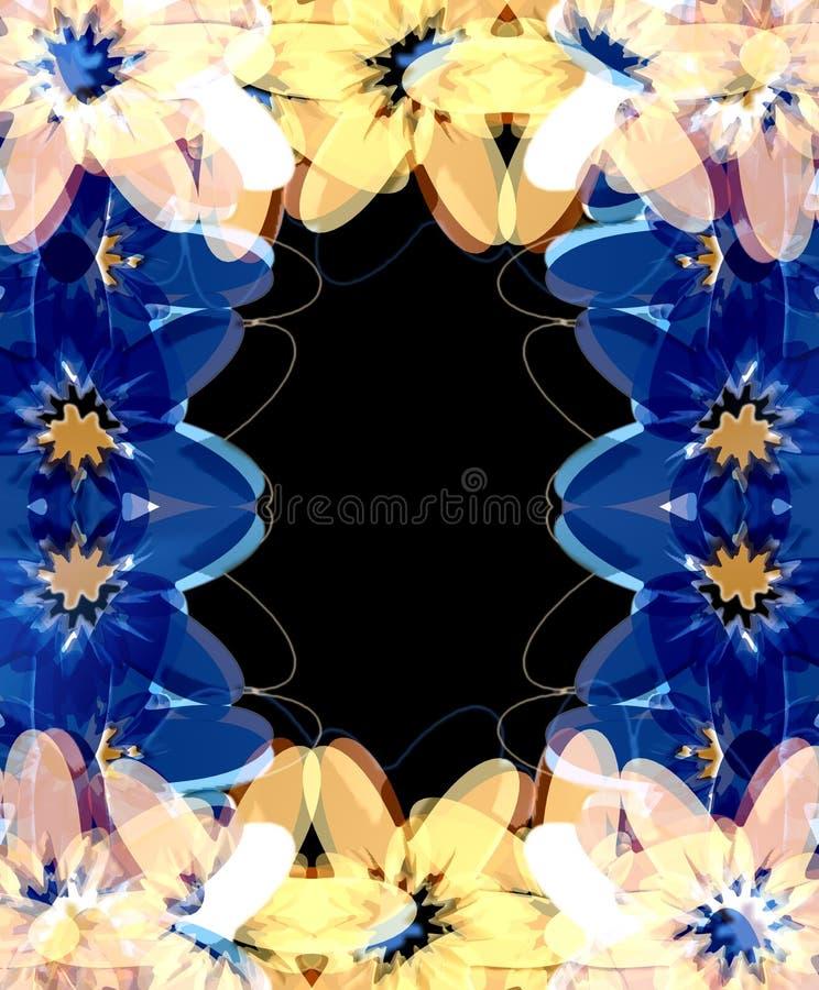 Kleurrijk de lenteframe vector illustratie