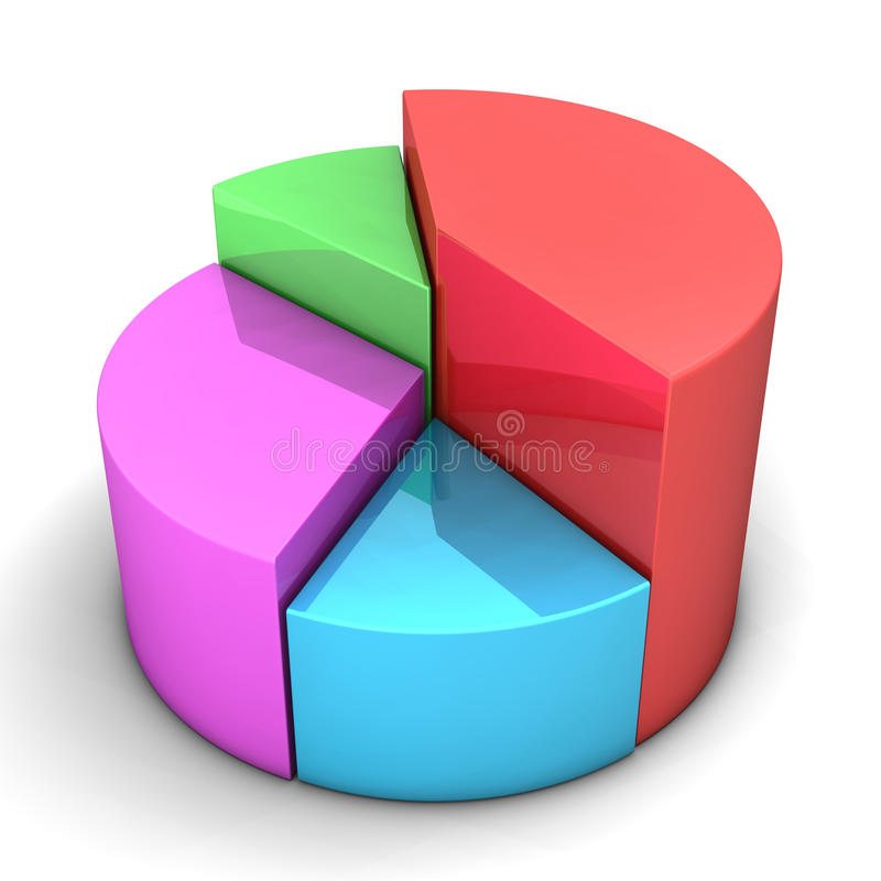 Kleurrijk Diagram vector illustratie