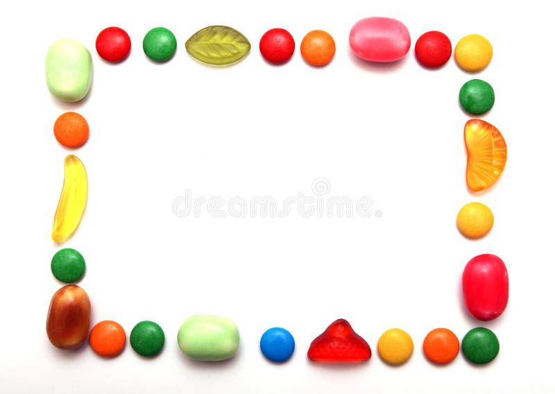 Kleurrijk frame royalty-vrije stock fotografie