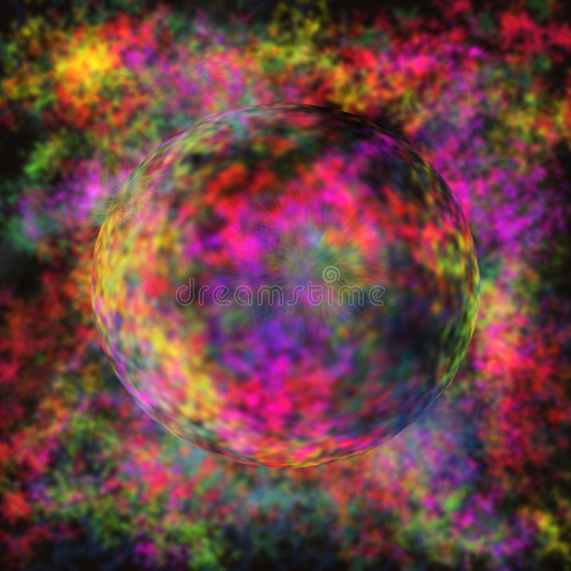 Kleurrijk gebied vector illustratie