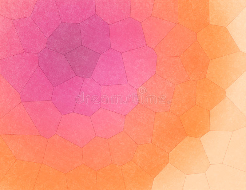 Kleurrijk Geometrisch Mozaïek - Abstracte Achtergrond royalty-vrije stock fotografie