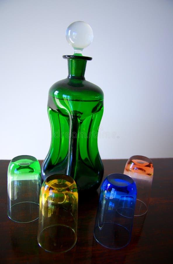Kleurrijk Glaswerk stock fotografie
