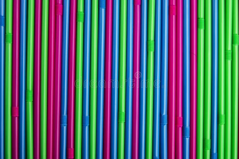 Kleurrijk het drinken stro stock afbeeldingen