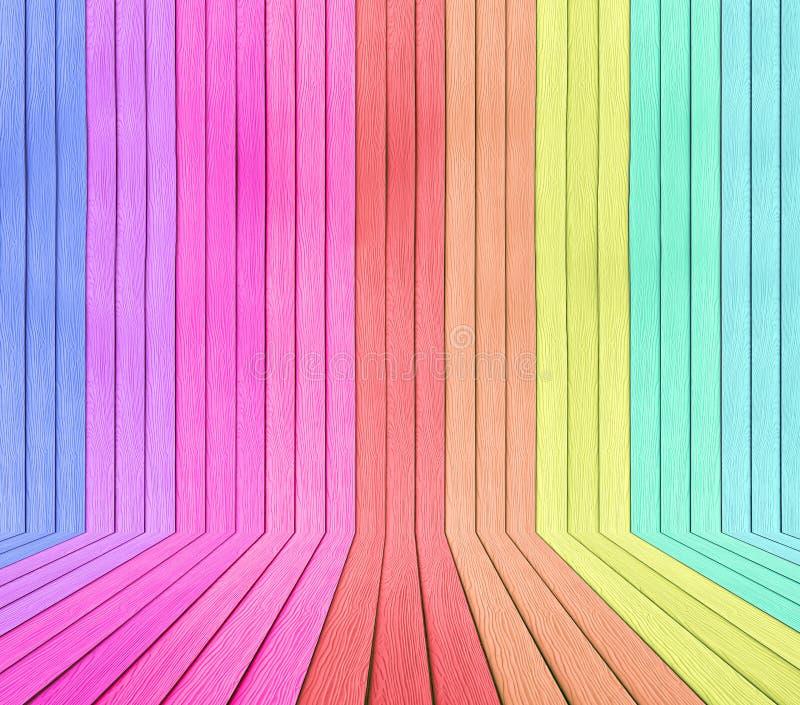 Kleurrijk hout royalty-vrije stock foto