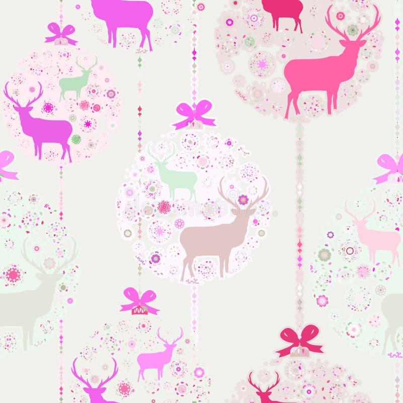 Kleurrijk Kerstmis naadloos patroon. EPS 8 vector illustratie
